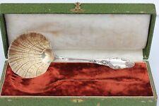 PELLE A FRAISES - ARGENT TETE DE MINERVE - LAPARRA - XIX° siècle - 22 cm - 115 g