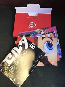 My Nintendo Calendar Poster Goodies ( Zelda Mario ...)