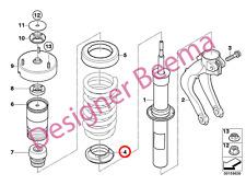 BMW SERIE X5 X6 E70 F15 F85 E71 E72 F16 F86 Cuscinetto A MOLLA INFERIORE (ANTERIORE) (JS)