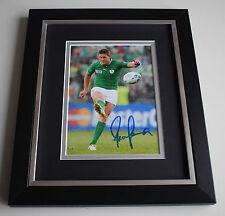 Ronan O'Gara SIGNED 10X8 FRAMED Photo Autograph Display Ireland AFTAL & COA
