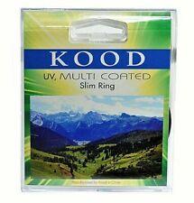 Kood Broadband Multicoated Ultra Slim UV MC Filter Camera Lens - 105mm (UK Stock