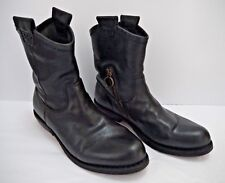 FIORENTINI + BAKER $500 Cruna black leather ankle boots size 36 *RARE STYLE*