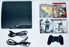 Sony PS3 160 GB Slim Console Bundle 4 Games + 1 Controller PlayStation 3