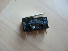 Omron Micro Limit Switch Ss 5gl With Straight Lever 5a 125vac E66ab