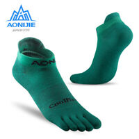 AONIJIE Low Cut Toe Socks Mesh Wicking for Five Toed Barefoot Running Shoes AB