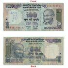 Collective Huge Misprinted 100 RS banknote Wet ink Error Fine Condition G5-75