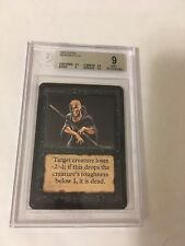 BGS 9 MTG Magic the Gathering Alpha Weakness  MINT Condition!! A