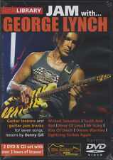 Jam With George Lynch Lick Library Guitar Tuition 2 DVD/CD Set