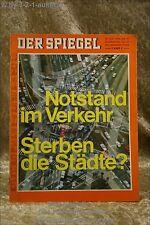 Der Spiegel 27/70 29.6.1970 Notstand im Verkehr