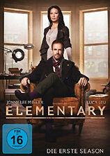 6 DVDs *  ELEMENTARY - STAFFEL / SEASON 1 ~ MB  # NEU OVP +
