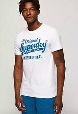 Superdry Men's 100 Club White T-Shirt, Size UK XL, BNWT, Authentic/Genuine