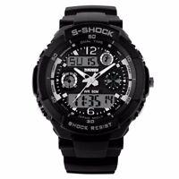 Montre Sport Fashion TOP MARQUE Homme Etanche 50M Alarme CHronographe men watch