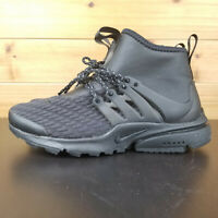 Nike Air Presto Mid Utility PRM Black Womens Casual Shoes AA0674-003