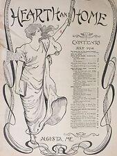 1916 Hearth And Home Magazine
