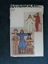 VINTAGE SEWING PATTERN: BUTTERICK 4073. SIZE L. GIRL'S/BOY'S HALLOWEEN COSTUMES