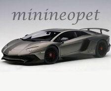 AUTOART 74554 LAMBORGHINI AVENTADOR LP750-4 SV 1/18 GRIGIO TITANS / MATTE GREY
