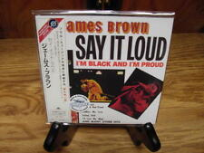 Say It Loud by JAMES BROWN JAPAN REPLICA EXACT TO ORIGINAL LP IN  LIMITED OBI CD