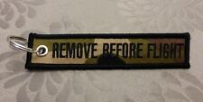 Remove Before Flight Keychain (Camouflage)