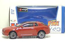 """Bburago 30010 Alfa Romeo Brera (2005) """"Met Rosso"""" METAL Scala 1:43"""