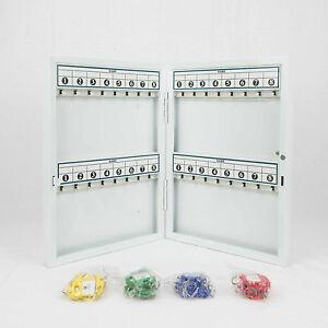 Wall-mounted Key Safe Case Box Multiple Sizes (Medium, 48 Keys)