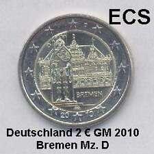 Deutschland 2 Euro GM 2010 Bremen Roland Mz D