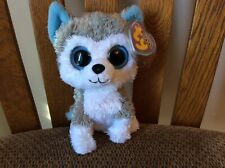 "Ty Beanie Boos ""SLUSH"" the Husky Dog MWMT 2009"
