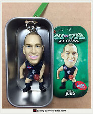 2010 Select AFL Stars Key Rings Chris Judd ( Carlton)