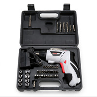 45 in 1 Power Tool Set Rechargeable Cordless Electric Screwdriver Drill Set Tool