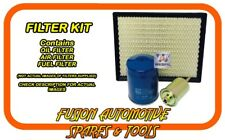 Oil Air Fuel Filter Service Kit for DAIHATSU Sirion M301 1.3L K3-VE 03/05-12/13
