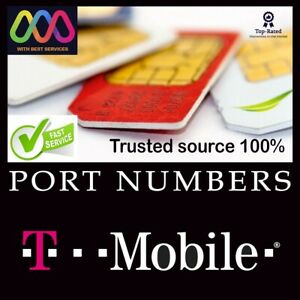 T-Mobile 10 Numbers for Port |10 Numbers to Port T-Mobile|Any Area Code|1-3 days