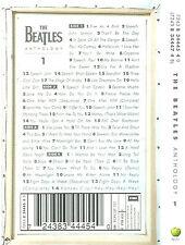 THE BEATLES ANTHOLOGY VOL 1 CASSETTE 2 ONLY ALBUM HOLLAND APPLE POP ROCK