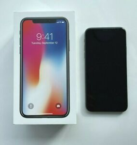 Verizon iPhone X 64GB - Space Grey - Original Box - Excellent Condition
