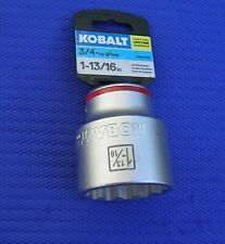 KTI34158 Brand New! 3//4in Drive Shallow 6 Point Impact Socket 1-13//16in
