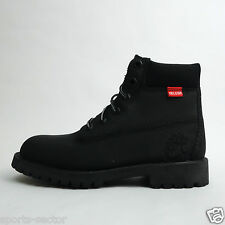 Timberland 6 Inch Premium Junior Youth Boots Shoes Black