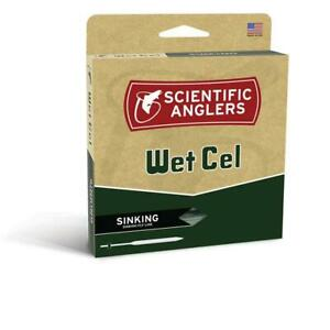 Scientific Anglers WetCel Fly Lines / Sink 2, 4 & 6 / Intermediate's / Fly Fishi