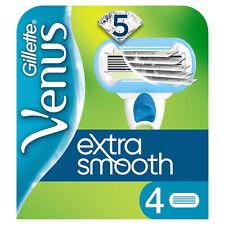 Gillette Originale Venus Extra Smooth Rasierklingen 4er Pack Ersatzklingen