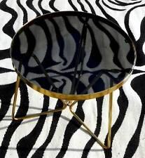 Mid Century Modern Retro Anodised Legs Round Coffee Table