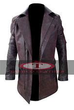 Will Smith Je Robot del Spooner vieilli vachette Vintage Veste en cuir Manteau