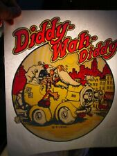 Diddy Wah Diddy 1970's Vintage Americana Iron On Transfer -Nice, B-9