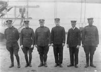 OLD PHOTO The Crew Of The Curtiss Nc1 Flying Boat Of The Us Navy