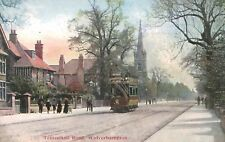Wolverhampton,U.K.Tettenhall Road,Trolley Car,West Midlands,c.1909