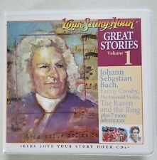 NEW Your Story Hour Great Stories Volume 1 on Audio CD  BACH Fanny Crosby Molly