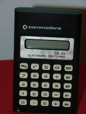 COMMODORE CIL30 ELECTRONIC SWITCHING CALCULATOR
