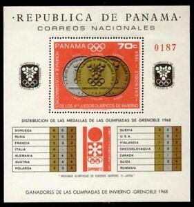Panama 487i MNH Olympic Medals & Winners