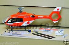 EC-135 450 V3 Scale EP RC Helicopter  with Scale Tail Fan  NIB