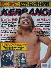 Kerrang 292 - Red Hot Chili Peppers - Metallica - Kiss