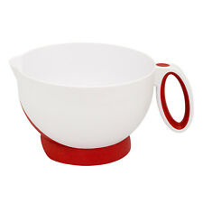 Cuisipro Deluxe Batter Bowl Mixing With Handle And Measurements, Red