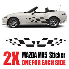 Mazda MX5 Graphics Eunos Roadster mk1 mk2  stripes Decals Stickers mz4