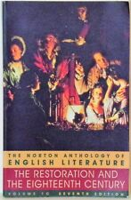 THE NORTON ANTHOLOGY OF ENGLISH LITERATURE - VOL. 1C - THE RESTORATION & THE EIG