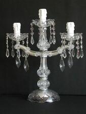 Éclairage et lampes du XIXe siècle XIXème et avant en cristal